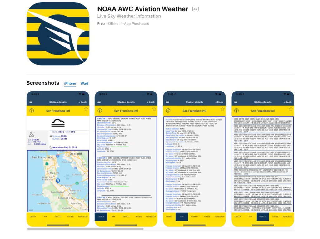 AWC-NOAA-Weather-Aviation